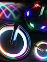 Cykellyktor hjul lampor Blinkande ventil LED Cykelsport Vattentät LED ljus Lumen Batteri Cykling