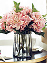 Konstgjorda blommor 5 Gren Europeisk Stil Hortensior Bordsblomma