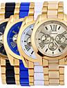 Bărbați Ceas Elegant  Ceas La Modă Quartz / Aliaj Bandă Casual Auriu