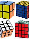 Rubiks kub 4 st Shengshou 2*2 5*5*5 4*4*4 3*3*3 2*2*2 Mjuk hastighetskub Magiska kuber Pusselkub professionell nivå Hastighet Present