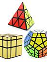 Rubik\'s Cube 3 PCS Shengshou Pyramid Extraterrestre Megamix Cube miroir Cube de Vitesse  Cubes Magiques Casse-tete Cube Niveau