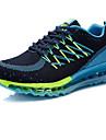Bărbați Adidași Primăvară Toamnă Confortabili PU Outdoor Atletic Toc Plat Negru Albastru Roșu Alergare