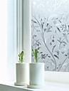 secesní motiv Moderní Fólie na okna, PVC/Vinil Materiál dekorace oken Jídelna Ložnice kancelář dětský pokoj Obývák Bath Room Obchod s