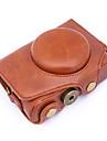 dengpin® PU aparat de fotografiat din piele caz acoperire sac pentru Canon hs powershot sx720 sx720 (culori asortate)