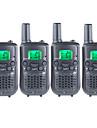 T899462C2P Walkie-talkie Handhållen Varning För Låg Batterinivå VOX Kryptering CTCSS/CDCSS bakgrundsbelysning LCD Scanna Övervakning 3-5