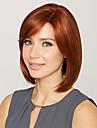 Femme Perruque Synthetique Court Droite Auburn Perruques sans bonnet Perruque Halloween Perruque de carnaval Perruque Deguisement