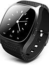 Bărbați Ceas Smart Piloane de Menținut Carnea Ecran Touch Telecomandă Calendar alarmă Pedometru Digipas Fitness Cronometru Cauciuc Bandă
