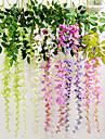 1stk färgglad simulering silke violett blom rotting heminredning