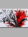 Hang målad oljemålning HANDMÅLAD - Abstrakt Moderna Duk