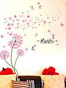 Botanic / Romantic / Natură moartă Perete Postituri Autocolante perete plane / 3D Acțibilduri de Perete Autocolante de Perete Decorative,