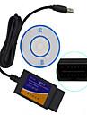 ELM327 USB de vânzări în masă instrument de OBD masina de testare de diagnosticare de înaltă calitate