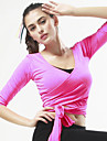 CONNY Women\'s Black Peach Green / Black Sports Elastane Top Zumba Yoga Pilates Long Sleeve Plus Size Activewear Breathable Comfortable Stretchy / Winter