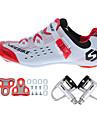 SIDEBIKE Homme Chaussures de Velo de Route / Chaussures de Cyclisme avec Pedale & Fixation Fibre de nylon et de carbonne Cyclisme / Velo