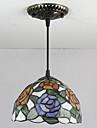 Tiffany Vintage Lumini pandantiv Pentru Sufragerie Intrare Becul nu este inclus