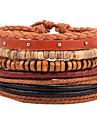 Brățări Bratari din piele Piele  Geometric Shape La modă / Ajustabile Zilnic / Casual Bijuterii Cadou Culori Asortate,1 buc