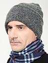 Bărbați Beanie/Slouchy Bărbați Tricotaj toamnă / Iarnă Vintage / Birou / Casual
