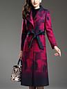 Pentru femei Mărime Plus Size Palton Muncă Vintage-Plisat