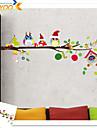 Noel Stickers muraux Autocollants avion Autocollants muraux decoratifs Decoration d\'interieur Calque Mural Mur