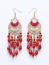 Dame Cercei Picătură Cercei Bijuterii Bohemia Stil European costum de bijuterii Reșină Aliaj Bijuterii Pentru Nuntă Petrecere Zilnic