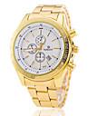 Bărbați Ceas Elegant  Ceas de Mână Ceas La Modă Quartz Calendar Aliaj Bandă Auriu