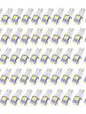 100pcs T10 Elpærer 2.5W SMD 5050 90lm LED Udvendige Lights