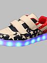 Băieți Pantofi PU Primăvară Toamnă Confortabili Pantofi Usori Adidași Plimbare Cataramă LED pentru De Atletism Casual În aer liber Rosu
