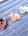 Șifon Perle Aliaj Îmbrăcăminte de păr Flori Veșminte de cap Pini de păr with Floral 1 buc Nuntă Ocazie specială Diadema
