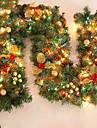 Feliz Navidad de CAA de ratn Navidad verde wreathoriginal de Navidad ghirlandă Partido decoracin de ratn PVC ornamento
