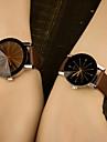 Bărbați Quartz Ceas de Mână Plin de Culoare / Piele Bandă Casual Modă Albastru