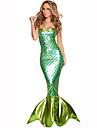 Mermaid Coada Pentru femei Crăciun Halloween Carnaval Oktoberfest An Nou Zuia Copiilor Festival / Sărbătoare Costume de Halloween Mată