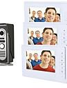 800 x 480 92° CMOS dörrklockan System Trådbunden Fotograferade Flerfamiljshus video dörrklocka