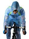 ROCKBROS رجالي / نسائي / للجنسين جاكيت الدراجة دراجة هوائية سترة / T-skjorte / قميص طويل الذراعين ضد الهواء, مقاوم للماء, متنفس كلاسيكي, موضة بوليستر الشتاء أبيض / أخضر / أزرق متقدم دراجة الطريق