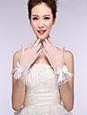 dantelă bumbac nailon încheietura mâinii mănuși mănuși de mireasă stil elegant