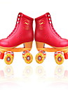 Homme / Femme Patins a Roulettes Anti-Shake / Respirable / Ajustable Rouge Interieur / De plein air