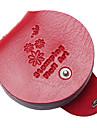 1st 6 färg nagelplattan runda kort paketet stämpling plattor tom mall fall innehavaren arrangör för 8 cm * 9cm stencil album lagring