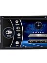 6.2 2 Laerm-HD Touch-Auto-DVD-Player Stereo Bluetooth FM Radio USB / SD-Kamera-Eingang MP3 / WMA / mp4 / mp5 russ / portugiesisch /