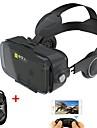 svart vr 3d glasse integrerad hörlur virtuell verklighet headset bobo vr för 4,7-6,2 tum smartphone med gamepad