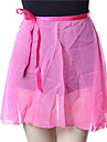 Bale Alt Giyimler / Elbiseler&Etekler / Etek Kadın\'s Eğitim Şifon Drape Kolsuz Yılbaşı / Cadılar Bayramı / Prenses Etek / Performans / Peri Masalları