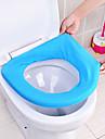 toalettsitsen kuddfodral universella toalettsitsen täcka toalettsitsen toalettsitsen pad kudde sittdyna (slumpvis färg)