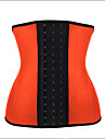 Pentru femei Cârlig & Ochi Corset sub Bust Plus Size Bumbac Modal Poliester Nailon Spandex Satin Jacquard Negru Portocaliu Mov Fucsia