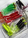 21 pcs Рыболовная приманка Мягкие приманки Мягкие пластиковые Тонущие Морское рыболовство Пресноводная рыбалка