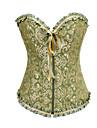 Corset Clasic/Traditional Lolita Verde Lolita Accesorii Satin