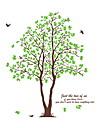 stickers muraux stickers muraux, arbre vert mur de pvc autocollants
