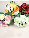 Flori artificiale 1 ramură Flori de Nuntă Camellia Față de masă flori