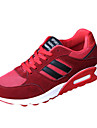 Bărbați Adidași de Atletism Primăvară Toamnă Confortabili PU Casual Atletic Toc Plat Dantelă Negru Albastru Roșu Alergare