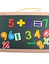 Jucării Magnet Jucarii Novelty Pătrat Lemn Bucăți Fete Băieți Crăciun Zuia Copiilor Cadou