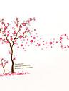 Modă Florale Botanic Perete Postituri Autocolante perete plane Autocolante de Perete Decorative, Vinil Pagina de decorare de perete Decal