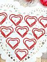 hjärtmönster silverplastbandspapper (10st) för kontor