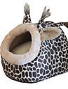 Pisici Câine Paturi Animale de Companie  Pene Decorative & de Dormit Leopard Pliabil Respirabil Απαλό Leopard Pentru animale de companie