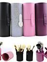 Trousse a Cosmetiques Boite de maquillage Noir Violet Rose Multicolore Ordinaire 17.5*6.5 Femme
